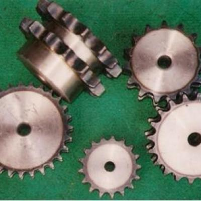 What is the difference between the sprocket and the pulley?
