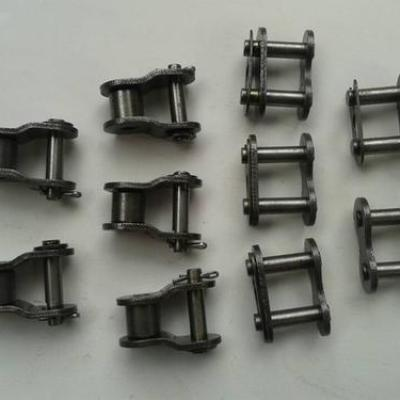 What kinds of joint parts are there for roller chains