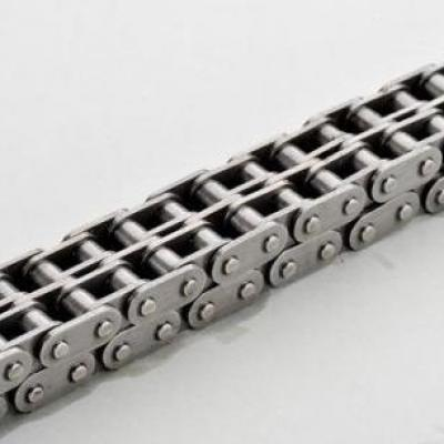 It is right that plate chains are widely used