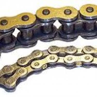 Difference between single-pitch roller chains and double-pitch roller chains
