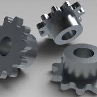 Detailed description of sprocket mounting structure