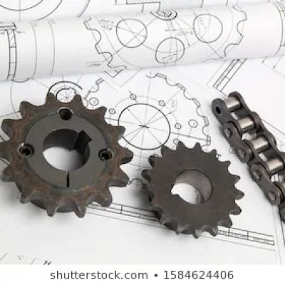 Three commonly used methods of 40B model sprocket