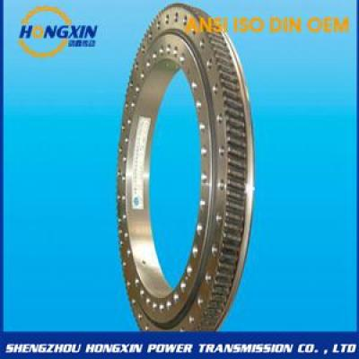 Double volleyball slewing bearing (02 series)-external gear