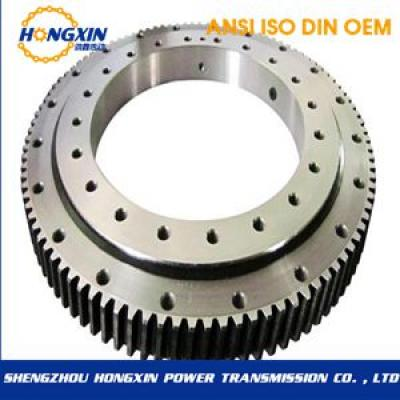 Three-row roller slewing bearing (13 series)-external gear